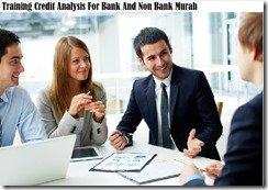 training kredit analisis untuk perbankan dan bukan perbankan murah